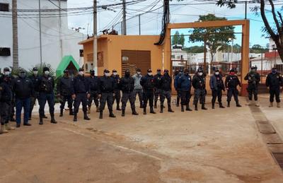 Contingente de agentes penitenciarios fue enviado a la cárcel de Ciudad del Este