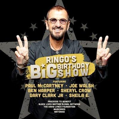 Ringo Starr festejará sus 80 años con concierto virtual benéfico y artistas invitados