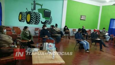 REUNIÓN DE LA MESA DE TRABAJO PERMANENTE DEL SECTOR YERBATERO