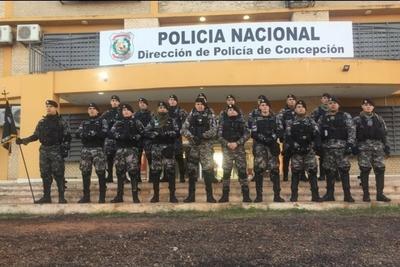 El grupo táctico Lince ya está en Concepción