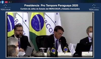"""Jair Bolsonaro: """"Acuerdos con UE muestran que estamos en el camino correcto"""""""