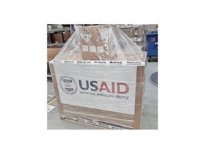 Estados Unidos anuncia envío de la primera carga de respiradores