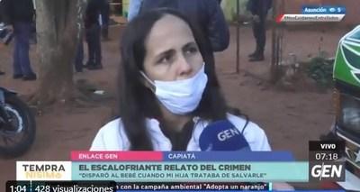 Mujer sobrevivió de milagro a la matanza de policía que asesinó a 5 personas y luego se suicidó