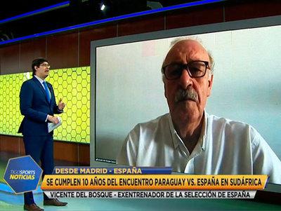 Vicente del Bosque en Tigo Sports Noticias