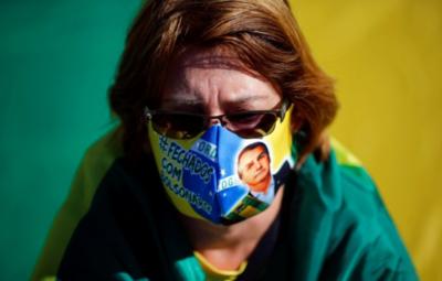 Bolsonaro veta el uso obligatorio de tapabocas en lugares cerrados de Brasil
