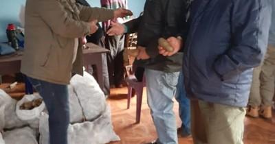 Productores de Itapúa reciben 23.000 kilos de semillas de papa