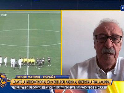 Vicente del Bosque recuerda la final contra Olimpia