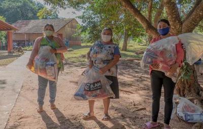 Plan Internacional entregó kits de alimentos y elementos de higiene a comunidades