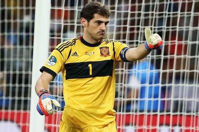 Casillas recordó el juego en Sudáfrica