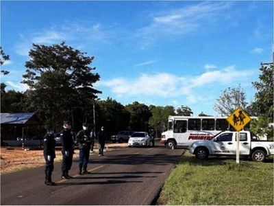 Rompió la cuarentena y viajó en bus a Paraguarí