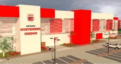 Renovación de lujo en el estadio de Coronel Oviedo