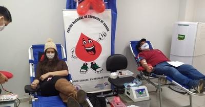 Exitosa jornada de donación de sangre