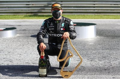 Valtteri Bottas gana el GP de Austria en la vuelta de la F1 a puertas cerradas