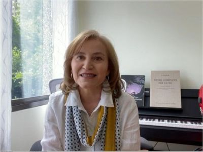 Berta Rojas realizará un concierto virtual desde su casa