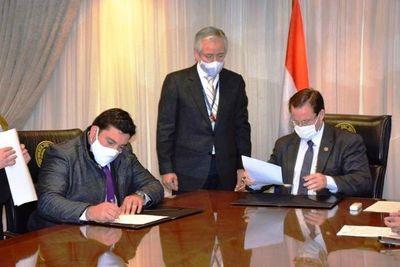 La Cooperativa Luque y la Corte firman convenio de cooperación • Luque Noticias