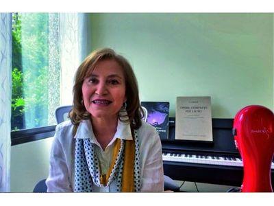 Berta Rojas realiza mañana su primer recital online