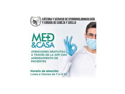 Clínicas: Consulta médica desde la casa