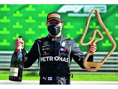 Bottas se impuso en el retorno de la Fórmula 1