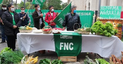 Federación Nacional Campesina cumple 29 años y donará 20.000 kilos de productos