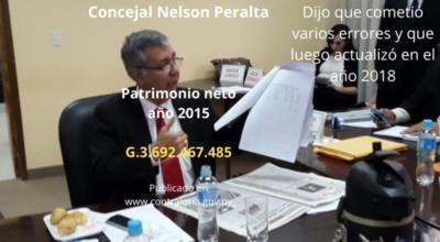 Nelson Peralta declaró en el 2015 un patrimonio de más de 3 mil millones