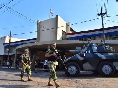 Manifestación de reclusos en la Penitenciaría Nacional de Tacumbú