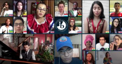 HOY / Alumnos de Arambé interpretan 'We Are The World' en coro virtual mundial