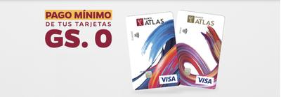 Banco Atlas posterga pago mínimo de tarjetas de crédito