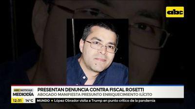 Presentan denuncia contra el fiscal Rosetti
