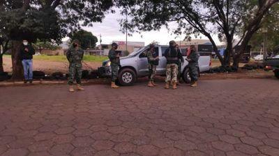 Comerciantes de neumáticos  molestos por control militar