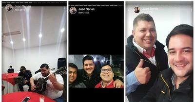 Concejal de Añetete violó la cuarentena y organizó festejo