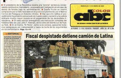 Denunciado por contrabando ligado a empresa de Velázquez y Salas