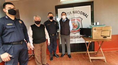 Gobernación entrega equipos informáticos a varias sedes policiales del departamento – Diario TNPRESS