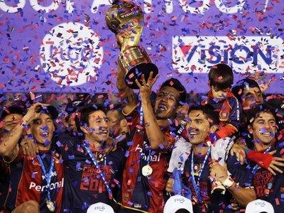 Hace 8 años, Cerro se coronaba campeón en su centenario
