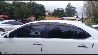 Matan a balazos a jefe de seguridad de la cárcel de Coronel Oviedo