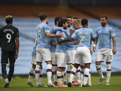 El Newcastle, sin Miguel Almirón, cae goleado por el City