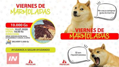 VENDEN MARMOLADAS PARA AYUDAR A ANIMALES MALTRATADOS.