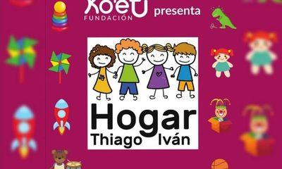 Habilitan el primer hogar transitorio del país para niños