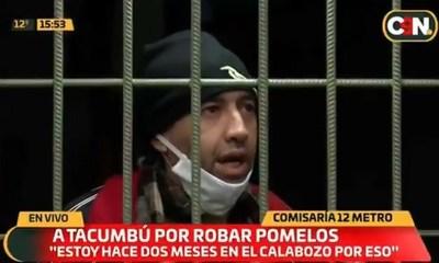 Fumigador que hurtó tres pomelos seguirá con prisión preventiva