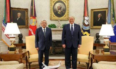 Test de Covid-19 para López Obrador antes de encontrarse con Donald Trump