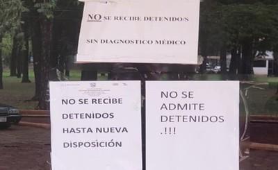 Calabozo de la Dirección de Policías es clausurado temporalmente