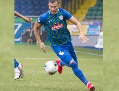 Samudio clavó un gol para el Rizespor turco