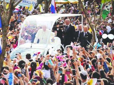 """""""El Papa cambió la vida de mi familia"""""""