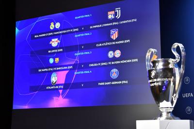 Se sortearon los cruces de cuartos de final de la inédita Champions League 2019/20