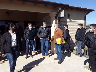Mario Abdo prometió obras para reactivar la economía en Ayolas