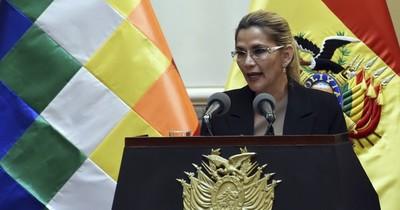 Presidenta de Bolivia dio positivo al test del COVID-19