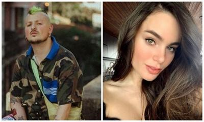Stephi Stegman a pleno romance con el vocalista de Piso 21