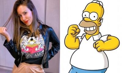 """Patty Orué habló con """"Homero Simpson"""""""