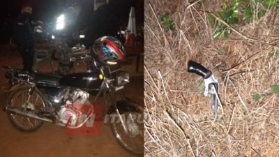 APREHENSIÓN DE PRESUNTOS MOTO ASALTANTES EN CAMBYRETÁ
