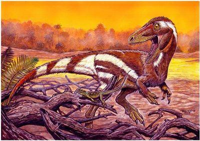 Hallan fósil de dinosaurio desconocido