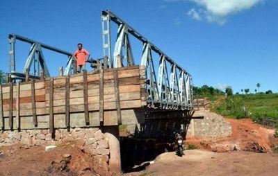 Licitan  construcción de 8 puentes  en Amambay, Paraguarí y San Pedro